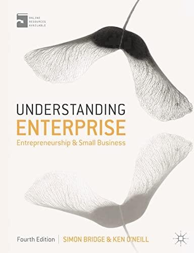 9780230308091: Understanding Enterprise: Entrepreneurship and Small Business