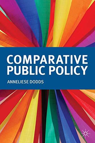 9780230319424: Comparative Public Policy