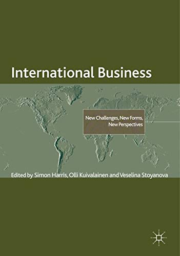 9780230320987: International Business: New Challenges, New Forms, New Perspectives (The Academy of International Business)