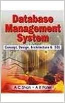9780230332409: Database Management System: Concept, Design, Architecture & SQL
