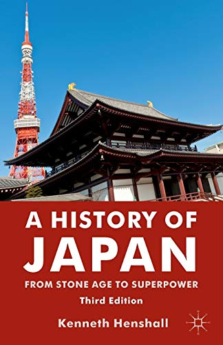 9780230346628: A History of Japan: From Stone Age to Superpower