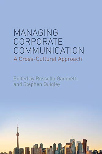 9780230348028: Managing Corporate Communication: A Cross-Cultural Approach