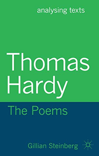 9780230349124: Thomas Hardy: The Poems (Analysing Texts)