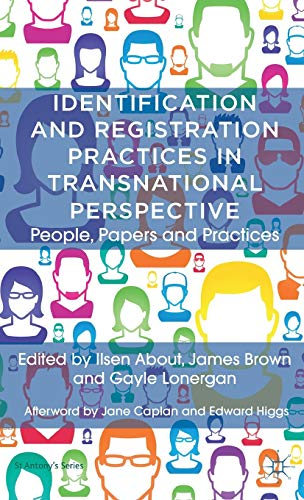 9780230354388: Identification and Registration Practices in Transnational Perspective: People, Papers and Practices (St Antony's Series)