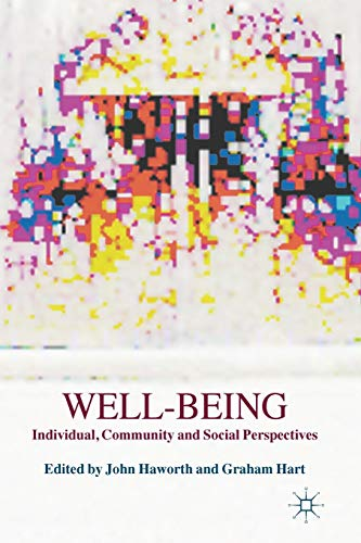 9780230355682: Well-Being: Individual, Community and Social Perspectives