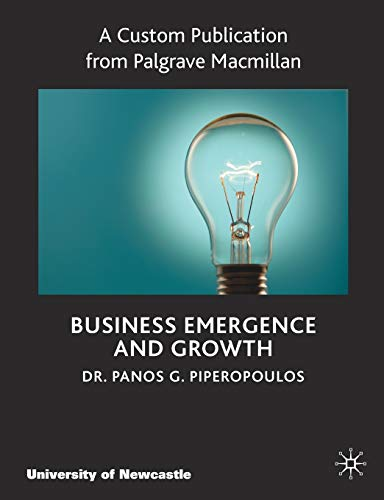 9780230358836: Business Emergence & Growth