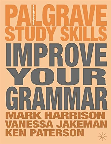 9780230360532: Improve Your Grammar (Palgrave Study Skills)