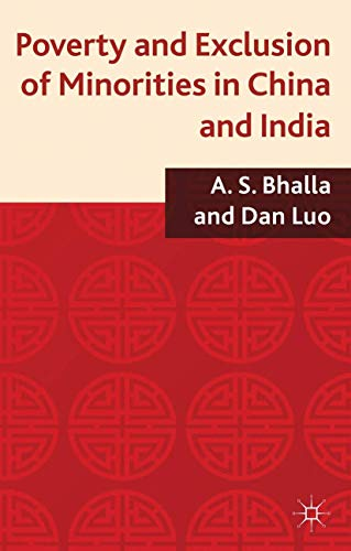 9780230361010: Poverty and Exclusion of Minorities in China and India