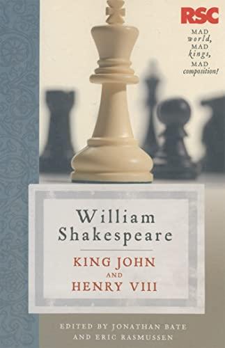 9780230361928: King John and Henry VIII (The RSC Shakespeare)