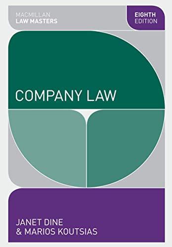 9780230362079: Company Law