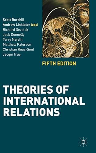 9780230362222: Theories of International Relations