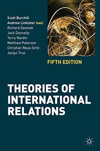 9780230362239: Theories of International Relations