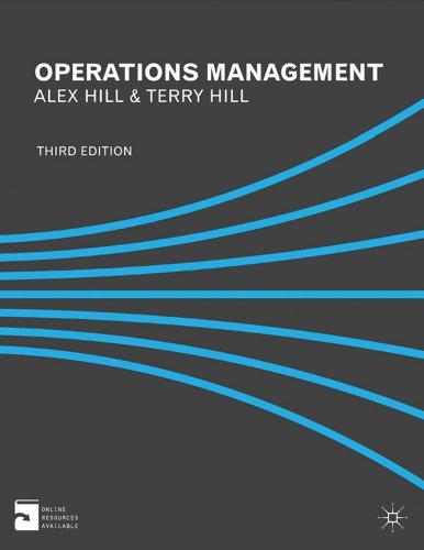 9780230362901: Operations Management