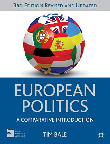 9780230362932: European Politics: A Comparative Introduction (Comparative Government and Politics)