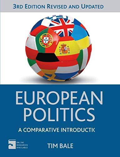 9780230362949: European Politics: A Comparative Introduction (Comparative Government and Politics)