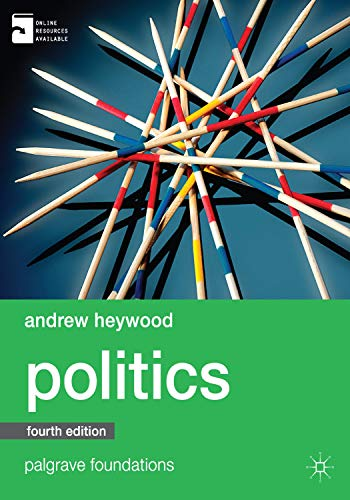9780230363373: Politics (Palgrave Foundations Series)
