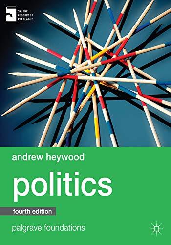 9780230363373: Politics (Palgrave Foundations Series)