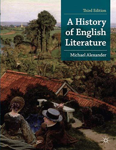 A History of English Literature: Alexander, Michael