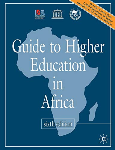Guide to Higher Education in Africa: International Association of Universities