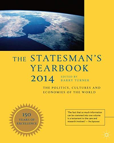 Statesman's Yearbook 2014 (Hardcover): Barry Turner