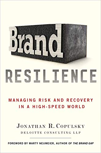 9780230392182: Brand Resilience: Managing Risk and Recovery in a High-Speed World