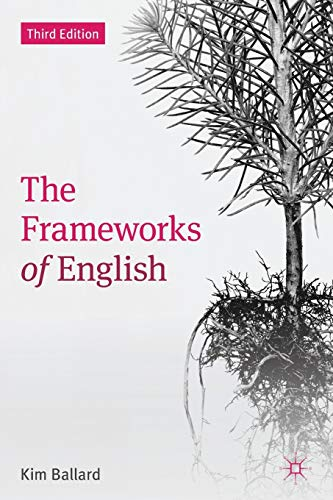9780230392427: The Frameworks of English: Introducing Language Structures