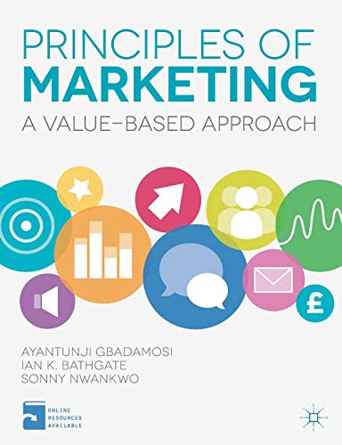 9780230392700: Principles of Marketing: A Value-Based Approach