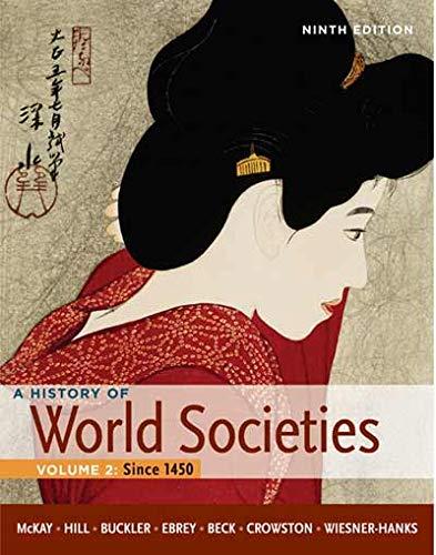 9780230394384: History of World Societies: Volume 2: Since 1450