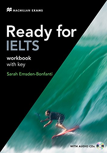9780230401037: Ready for IELTS Workbook with Key and Audio CDs