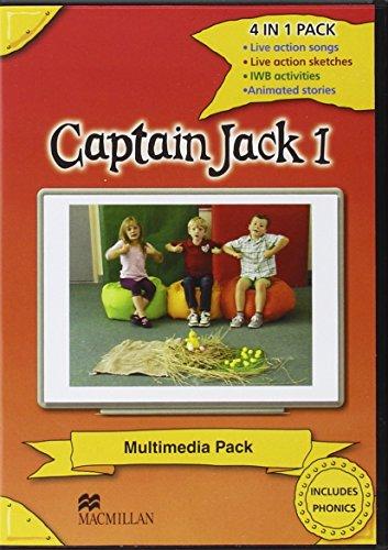 9780230403864: Captain Jack 1 Multimedia Pack