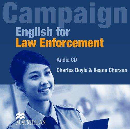 English for Law Enforcement: Class Audio CD (0230405266) by Boyle, Charles