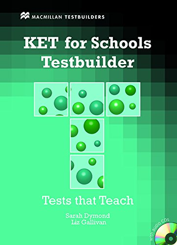9780230407114: KET for schools. Testbuilder. Livello A2. Per la Scuola media. Con CD Audio