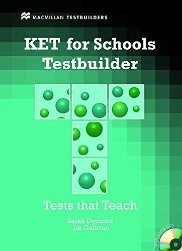 9780230407114: KET for Schools Testbuilder [With 2 CDs] (MacMillan Testbuilders)
