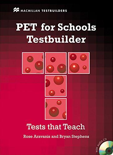 9780230407121: PET FOR SCHOOLS TESTBUILDER Pack