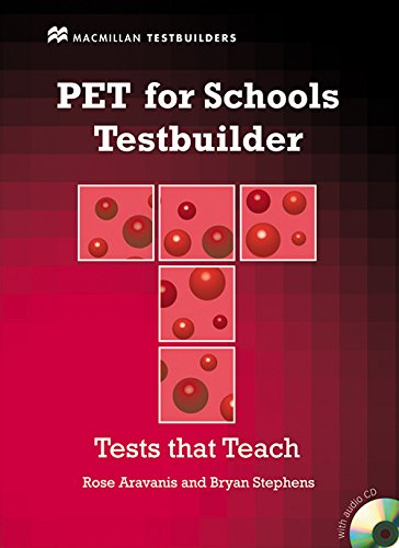 9780230407121: PET for Schools Testbuilder [With CDROM] (MacMillan Testbuilders)