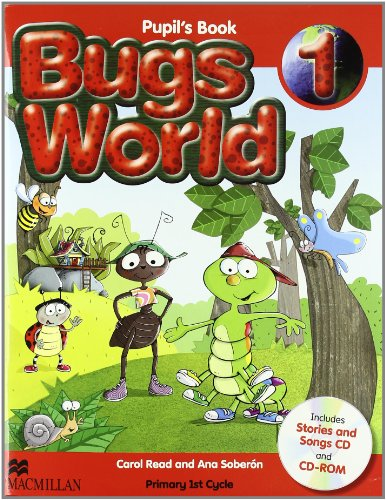 9780230407466: Bugs world 1 pupil's pack - 9780230407466