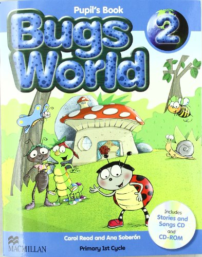 9780230407480: Bugs World 2. Pack (Libro y Cd)