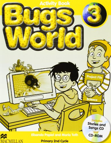 9780230407503: Bugs world 3 workbook pack - 9780230407503