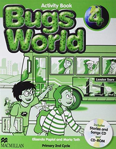 9780230407527: Bugs world 4 workbook - 9780230407527