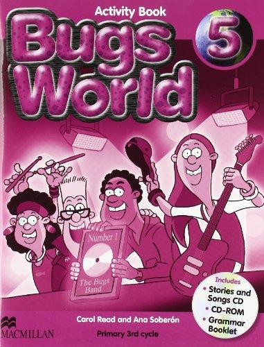 9780230407633: Bugs World 5 Activity Book + Pack Cds