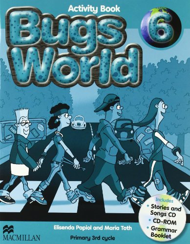 9780230407640: BUGS WORLD 6 Act Pack