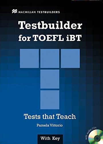 9780230409712: TOEFL Testbuilder Students Book Pack International