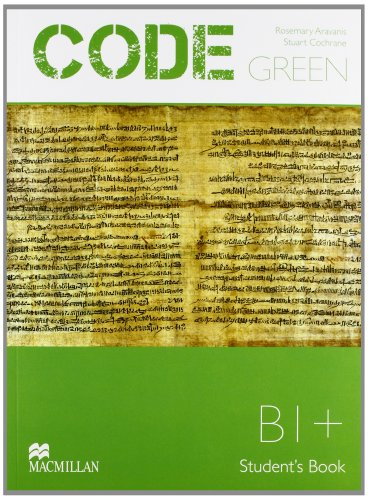 9780230410077: Code green. Intermediate. Student's book-Workbook. Per le Scuole superiori. Con CD-ROM. Con espansione online