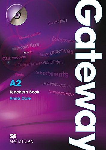 9780230411791: Gateway A2: Teacher's Book & Test CD Pack