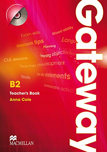 9780230411838: Gateway B2: Teacher Book & Test CD Pack