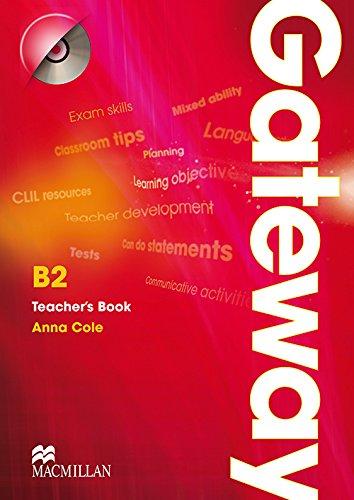 9780230411838: Gateway B2: Teacher Book & Test CD Pack