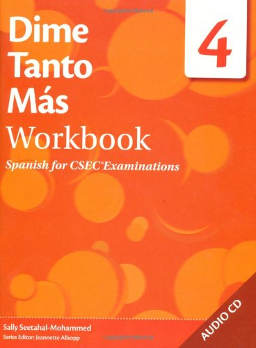 9780230411999: Dime: Spanish for Caribbean Secondary Schools Workbook 4 Pack: Dime Tanto Mas