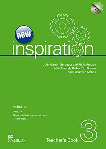 9780230412460: New Edition Inspiration Level 3 Teacher's Book & Test CD & Class Audio CD Pack: Teacher's Book, Test CD and Audio CD Pack (New Inspiration)