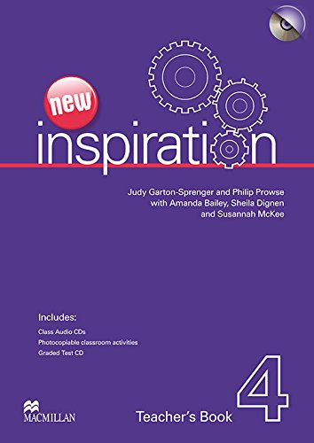 9780230412507: New Inspiration Level 4: Teacher's Book, Test and Audio CD Pack