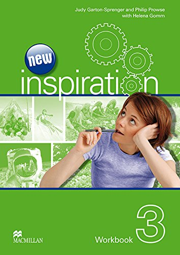New Edition Inspiration Level 3 Workbook: Judy Garton-Sprenger, Philip